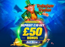 rainbow riches coral £50 free